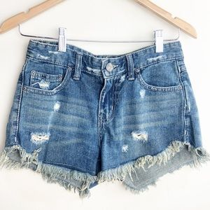 Free People • Dolphin Cutoff Shorts • 24